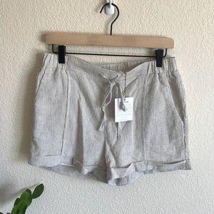 NWT Ellison linen shorts